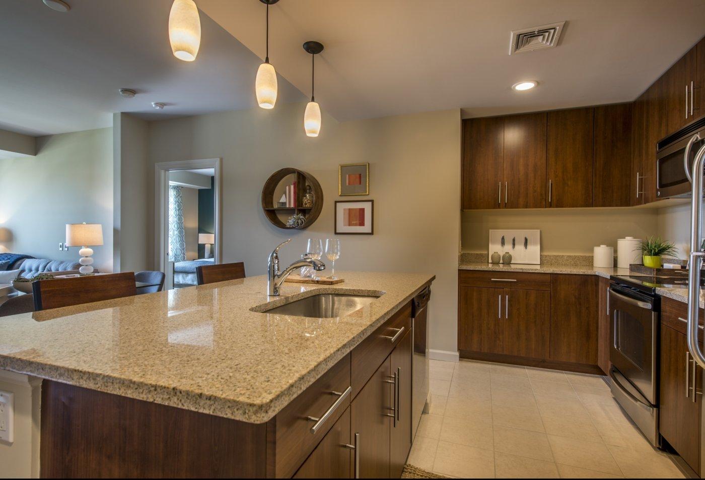 Kitchen at Quarrystone at Overlook Ridge 2