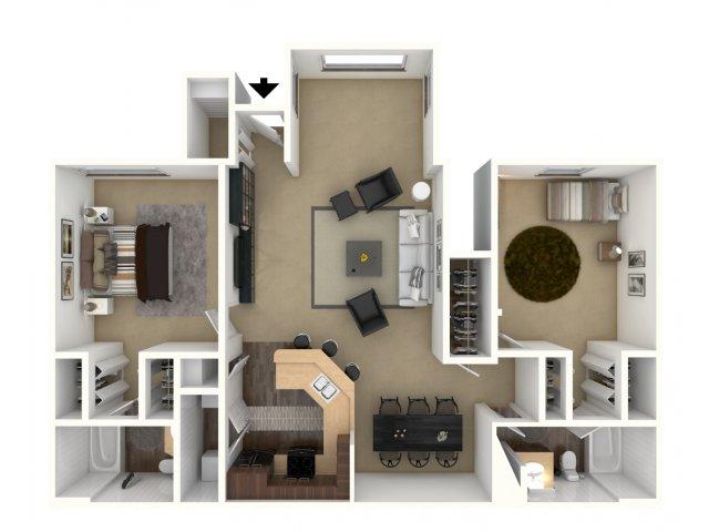 Floor Plan 2 | Providence Lakes