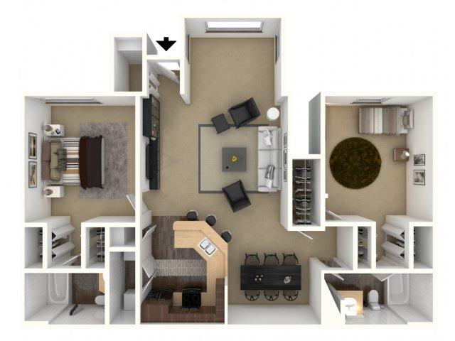Floor Plan 6 | Providence Lakes