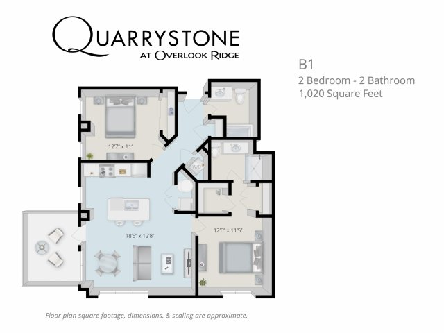 Quarrystone at Overlook Ridge Apartements