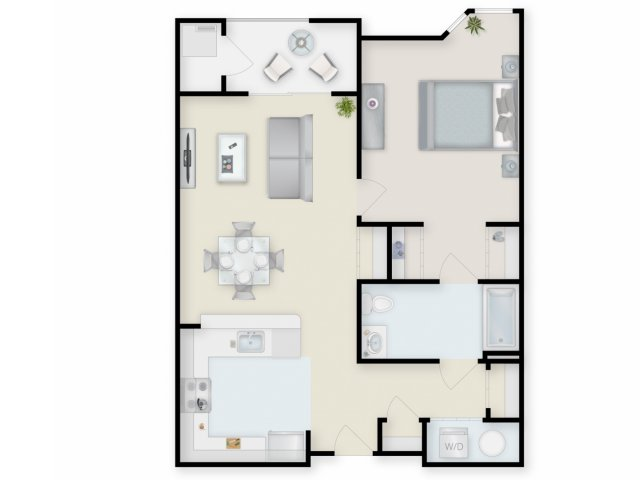 Floor Plan 2 | Cove at Riverwinds
