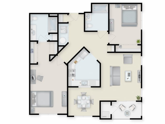 Floor Plan 6 | Cove at Riverwinds