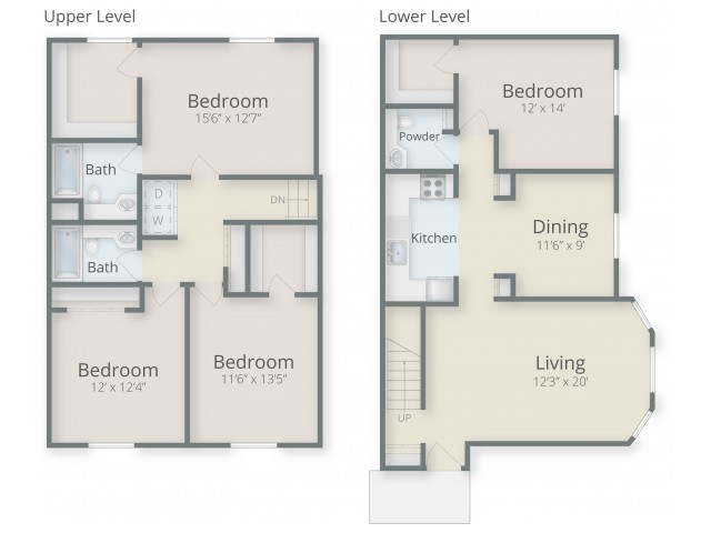 Four Bedroom Style