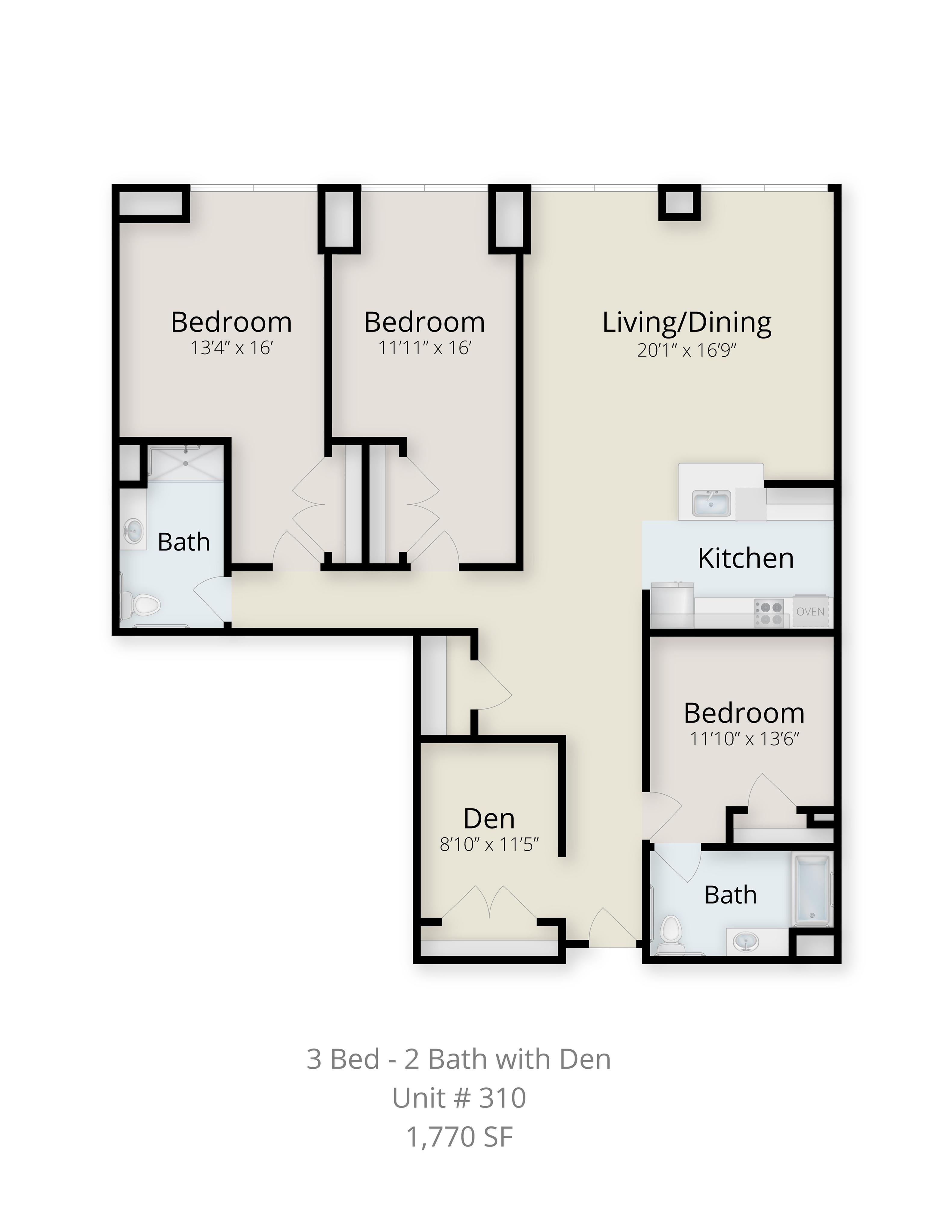 3 Bed 2 Bath Apartment In Fitchburg Ma Yarn Works