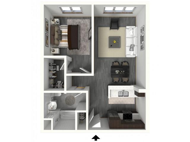 1 Bed / 1 Bath Apartment in Irvington NJ | 280 Park Place Apartments