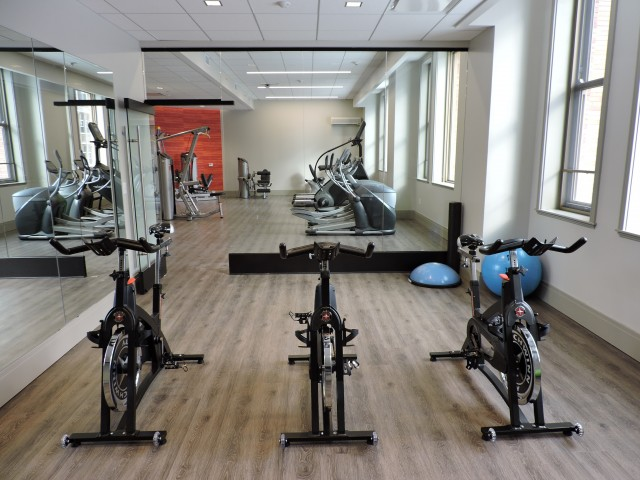 Image of Fitness Center with Yoga and Spin Room for Spectra at Sibley Square