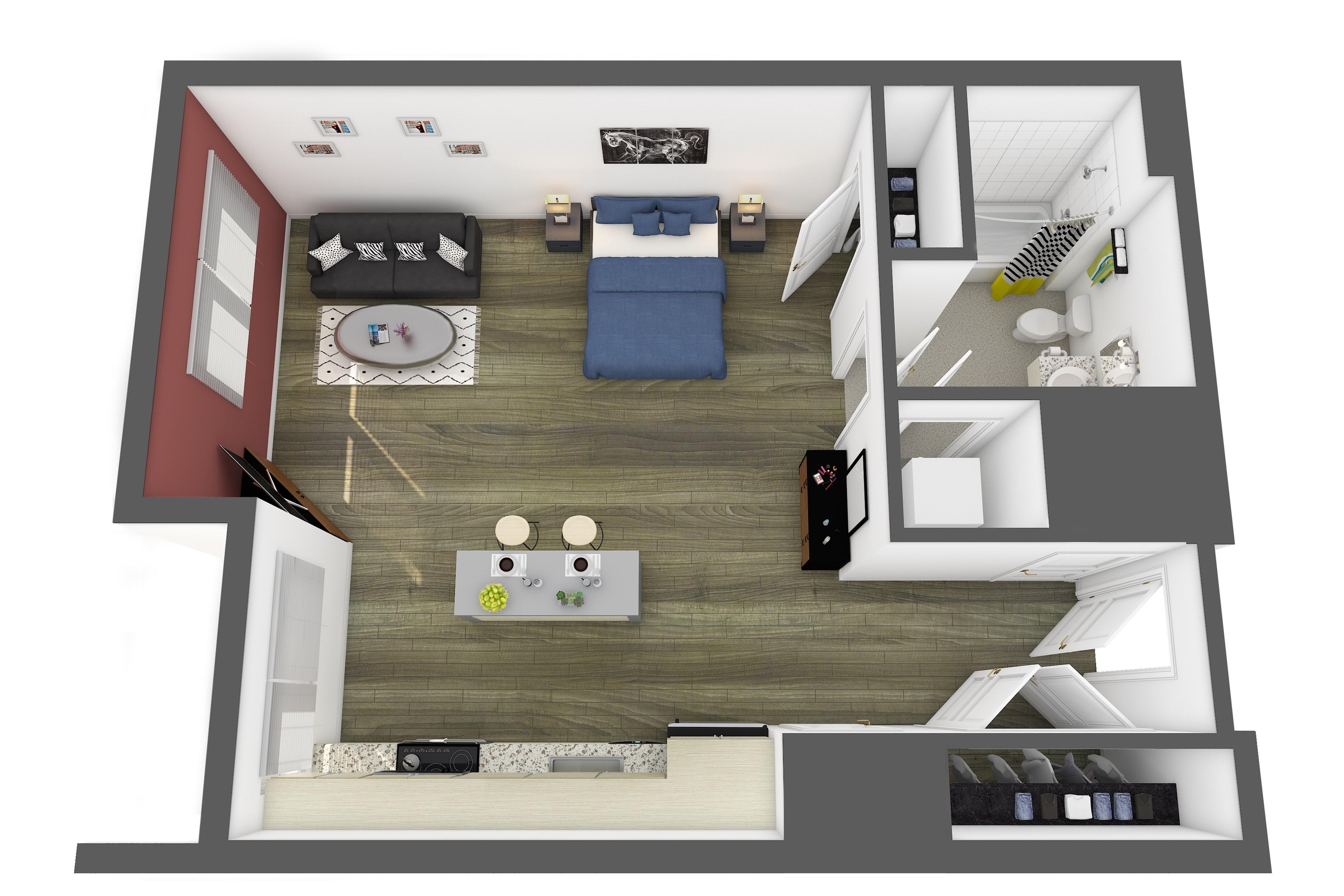 The Prado Floor Plan