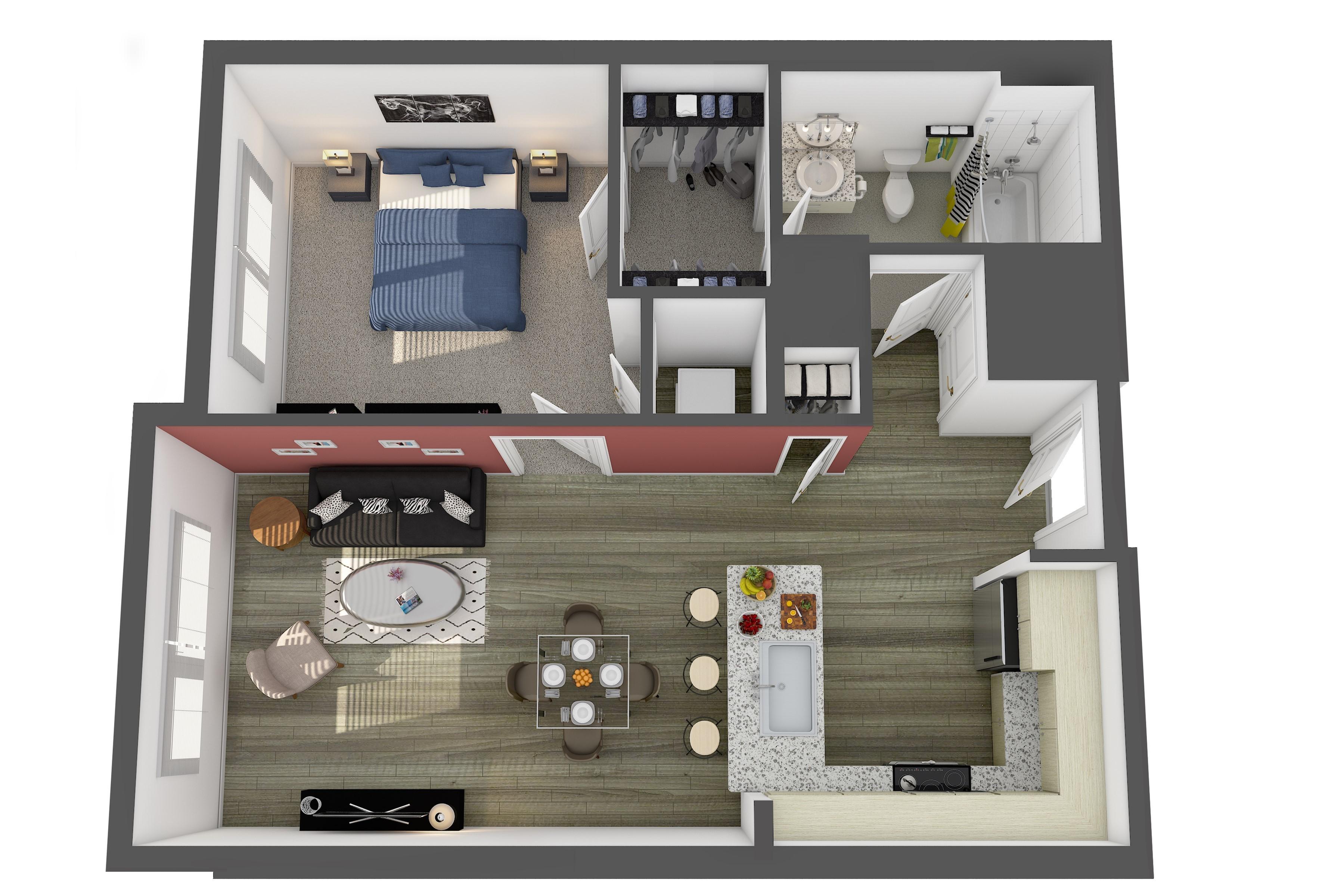 The Corcoran Floor Plan