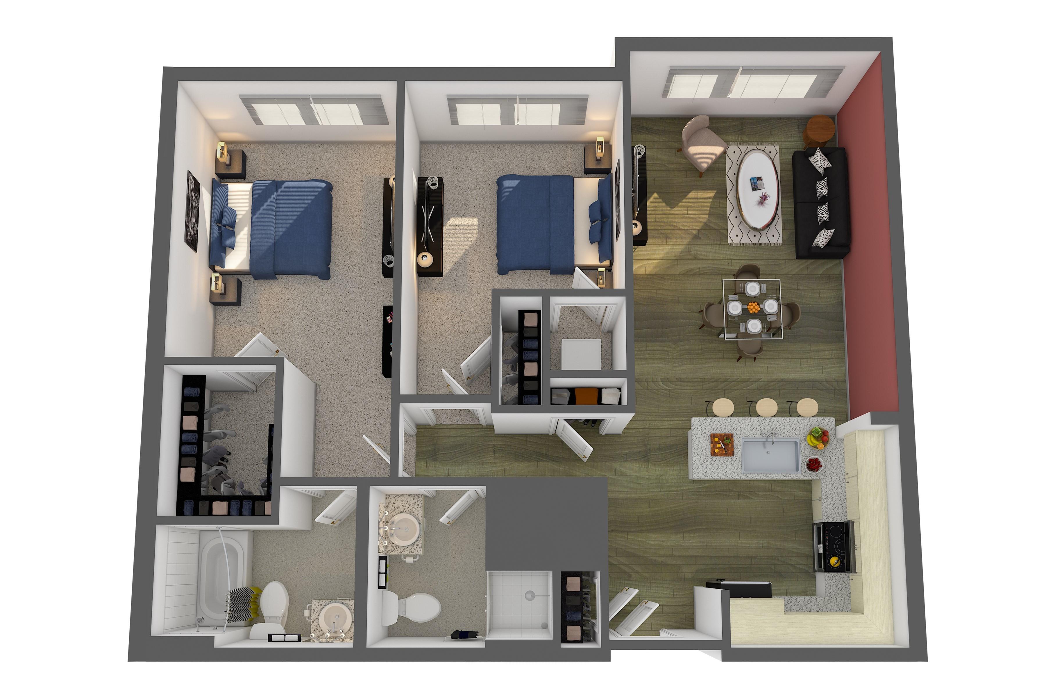 The Renwick Floor Plan