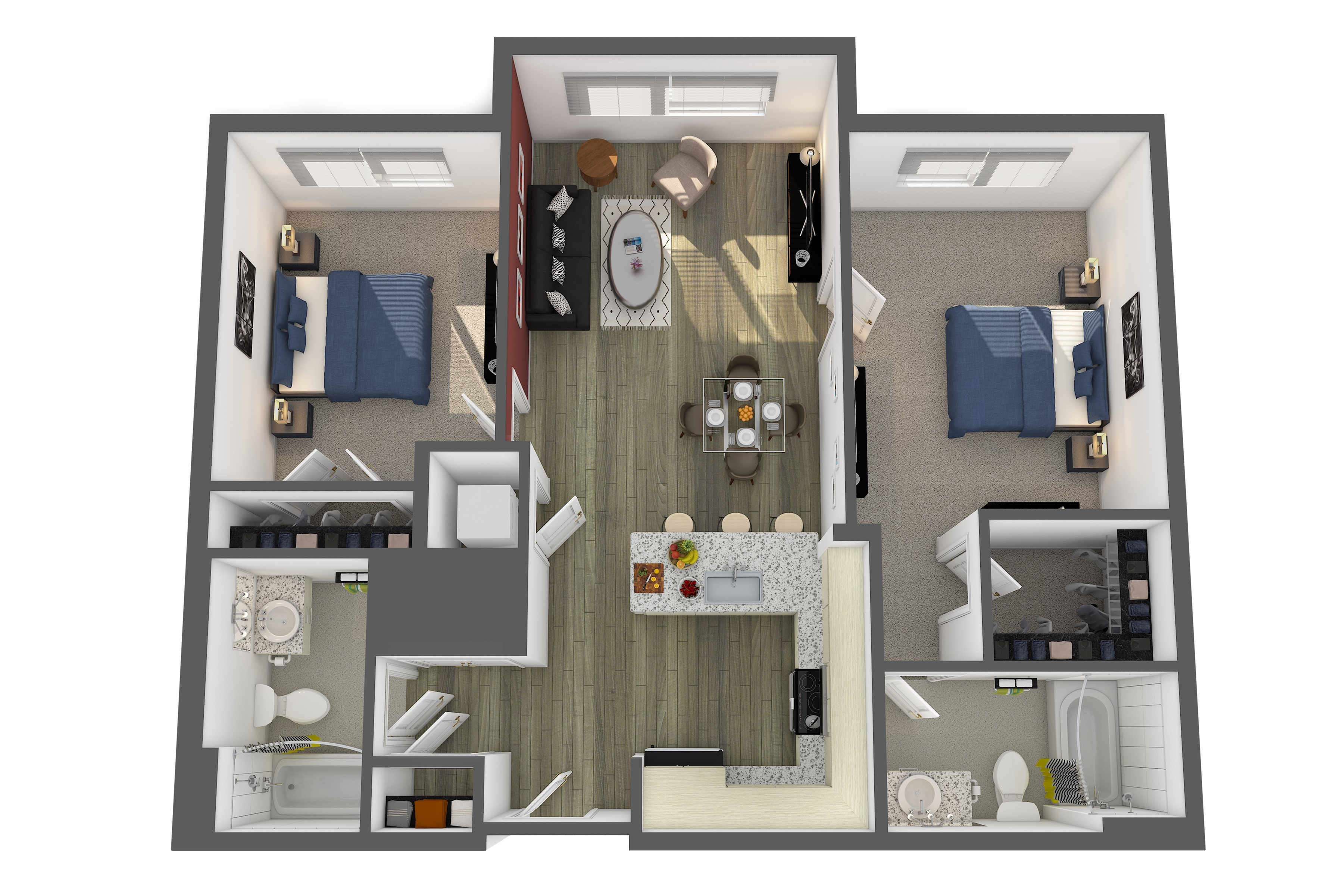 The Carnegie Floor Plan