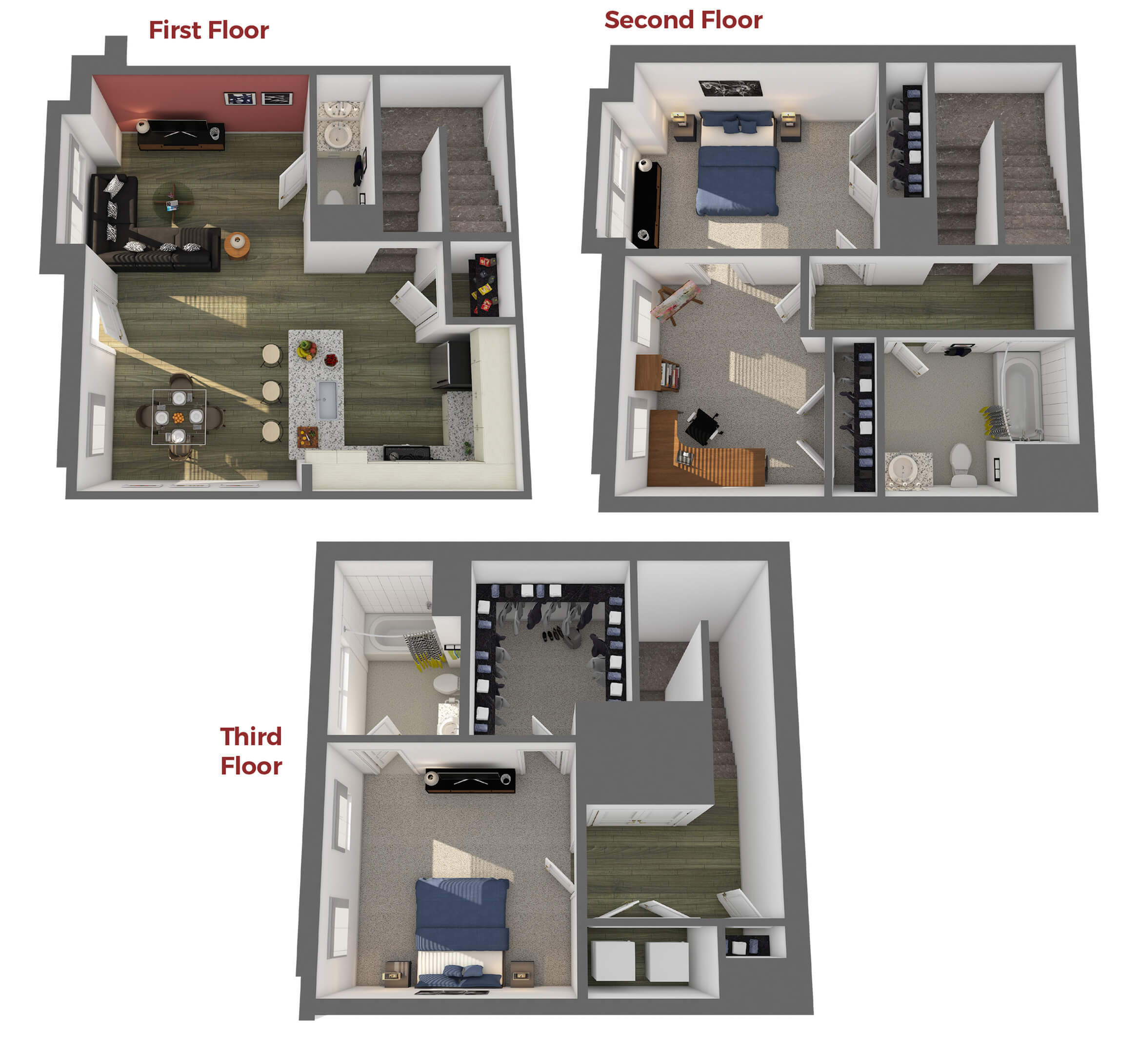The Strathmore Floor Plan