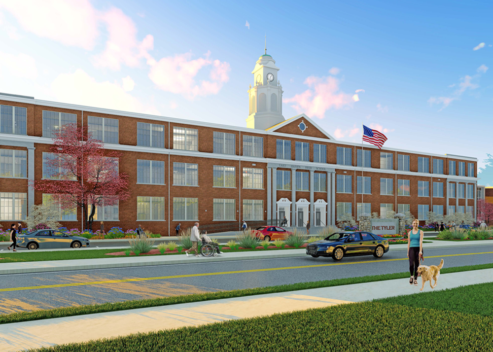 East Haven High School Rendering