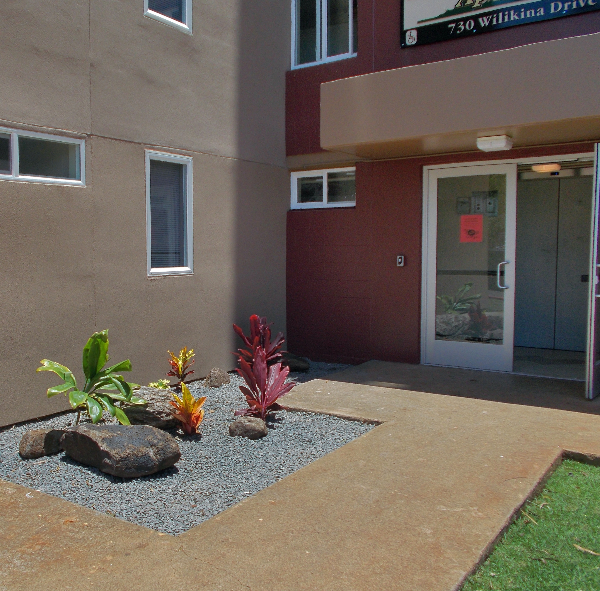 Image of Security Entry System for Kawahi Maluwai Apartments