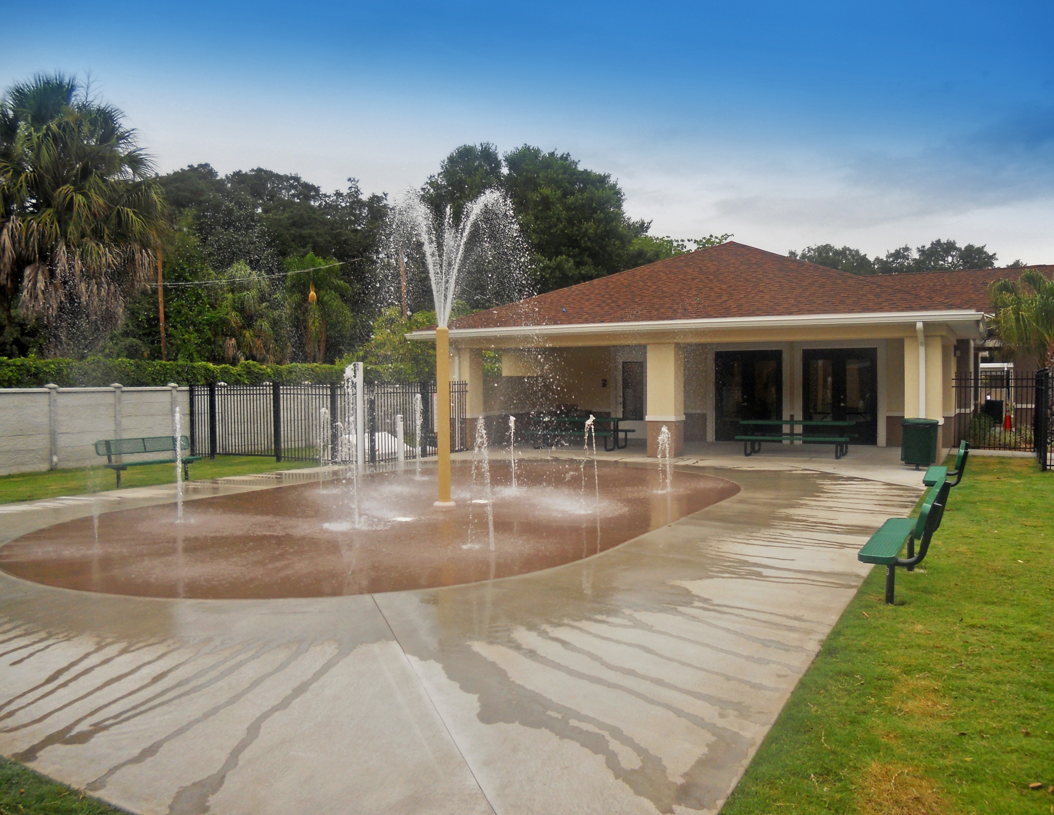 Image of Splash Pad for Silver Oaks Apartments