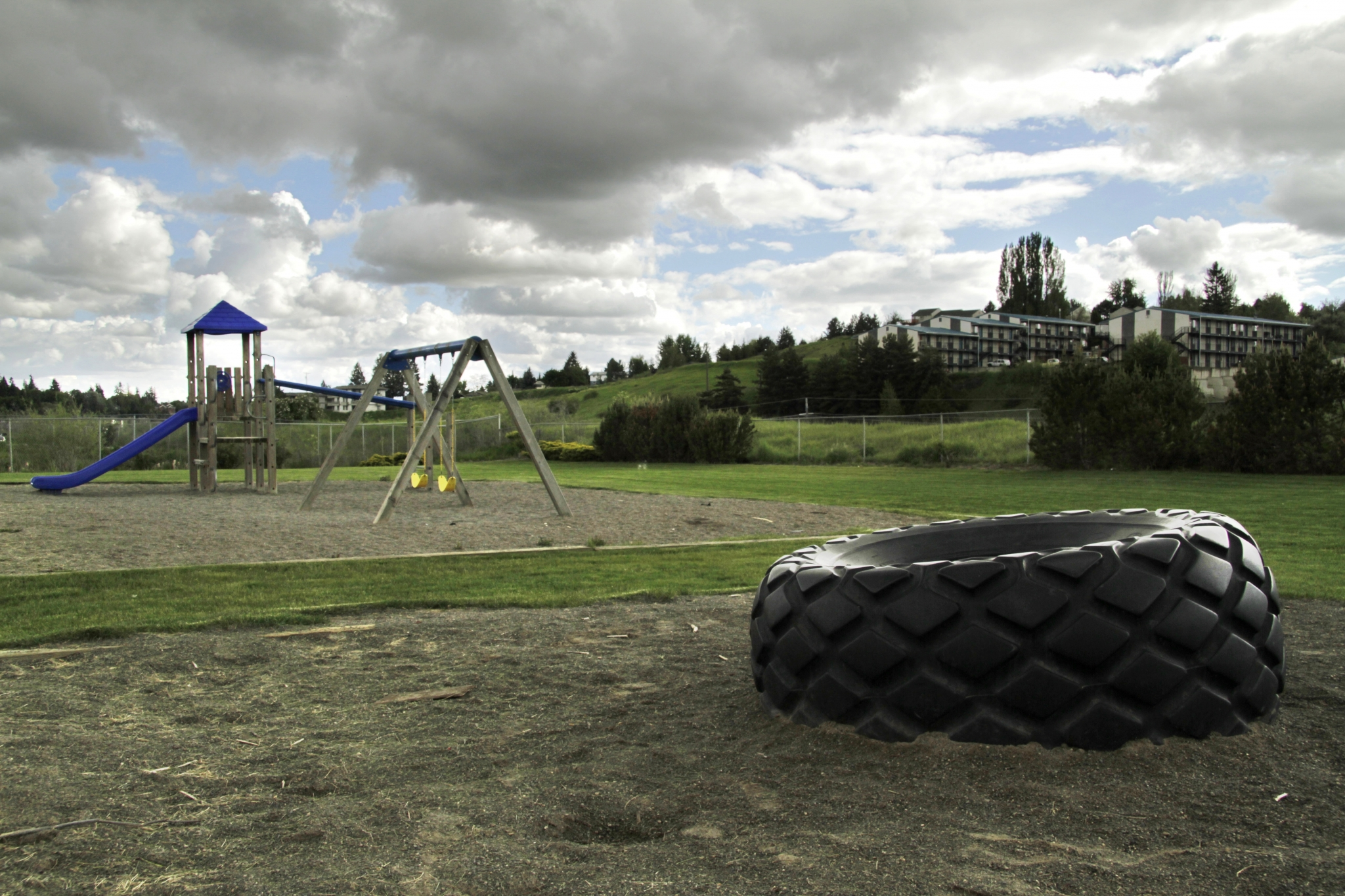 Image of Fenced Play Areas for Terre View Apartments