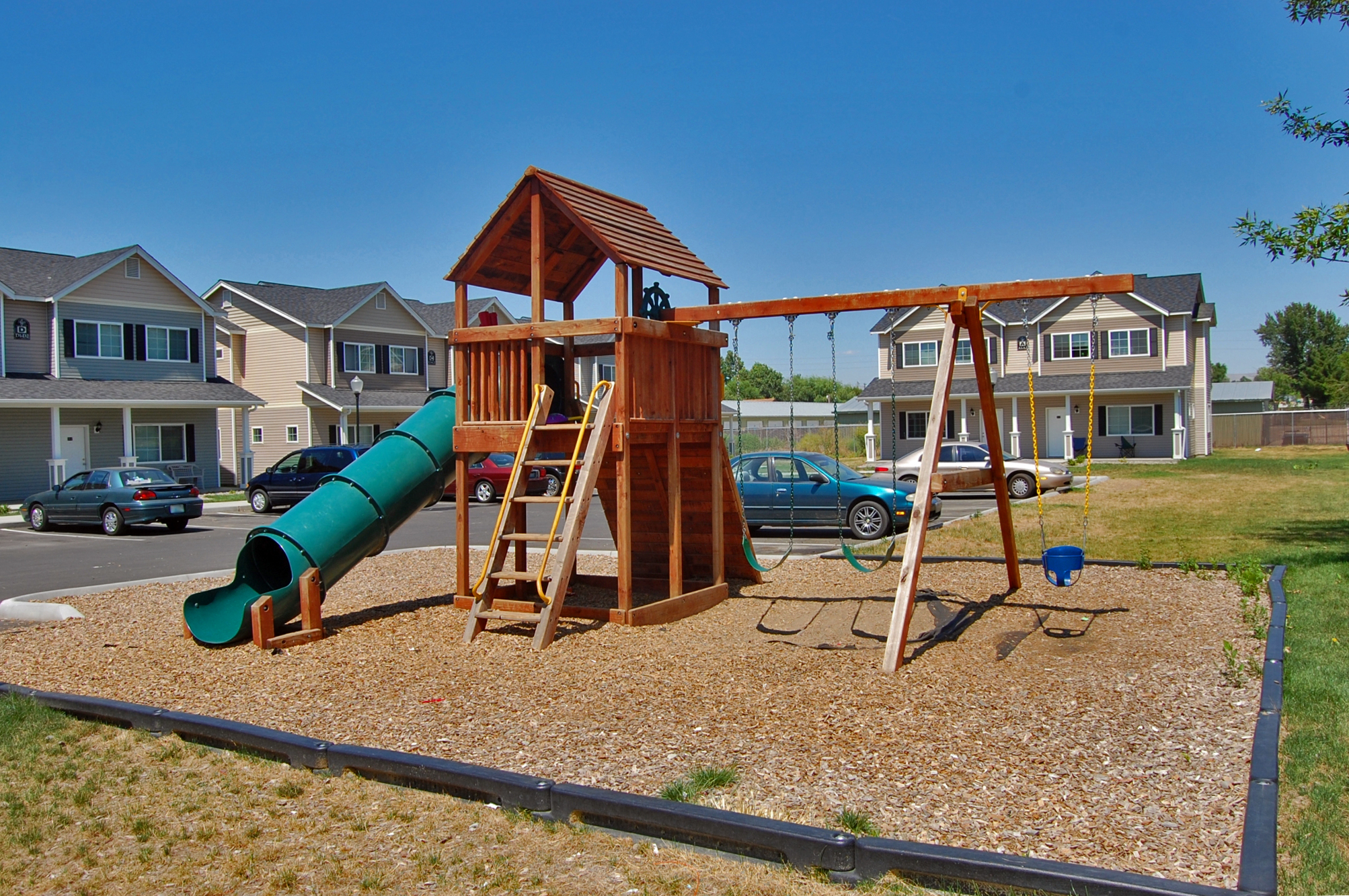 Image of Two Playgrounds for Parkwood Twinhomes