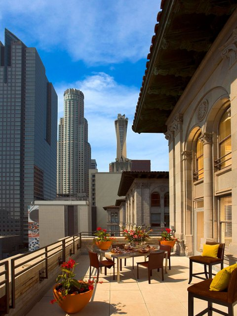 Downtown Los Angeles Apartments For Rent Metro 417 Penhouse Level Skyline View