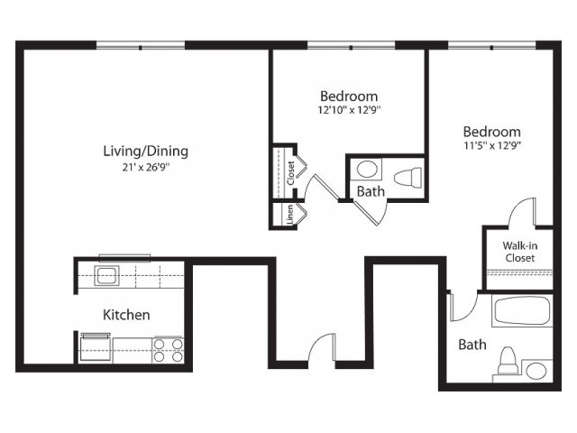 Floor Plan 10 | Lenox Park