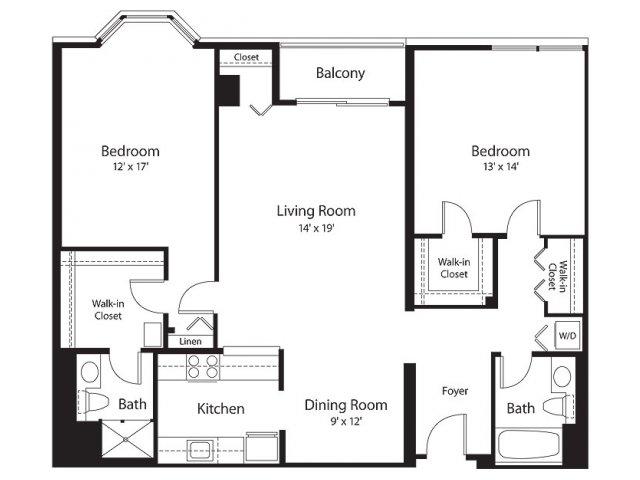 Floor Plan 13 | Lenox Park