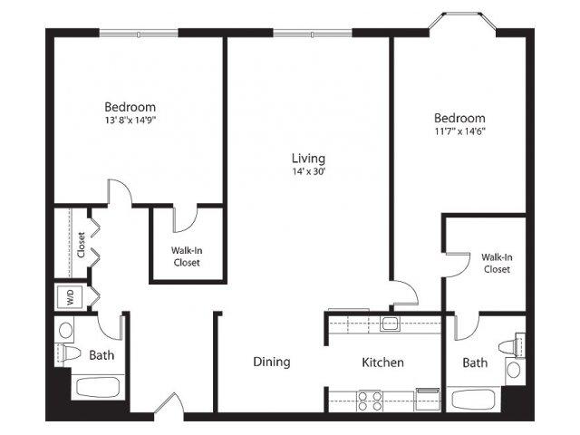 Floor Plan 14 | Lenox Park