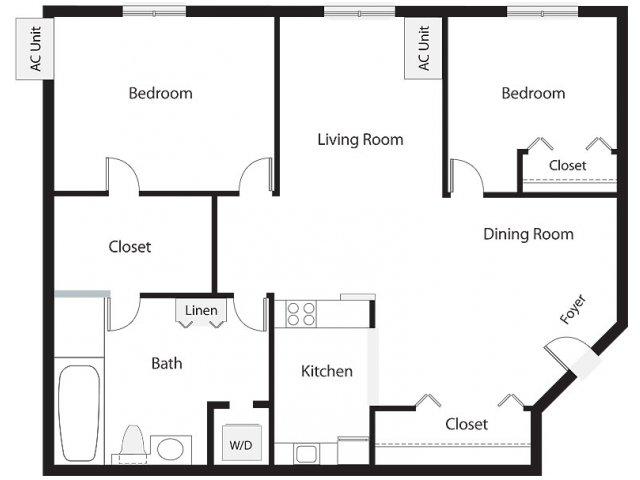 Floor Plan 9 | Lenox Park