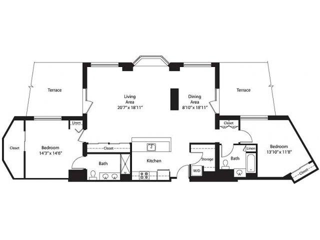 Floor Plan 15 | Lenox Park