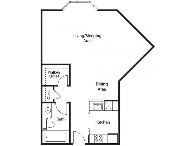 Floor Plan 3 | Bayside Village Apartments