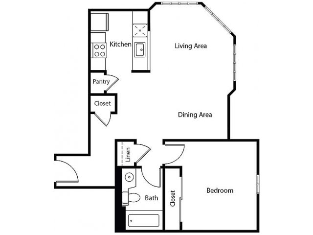 Floor Plan 7 | Bayside Village Apartments