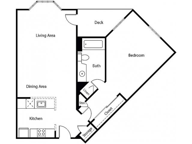 Floor Plan 8 | Bayside Village Apartments
