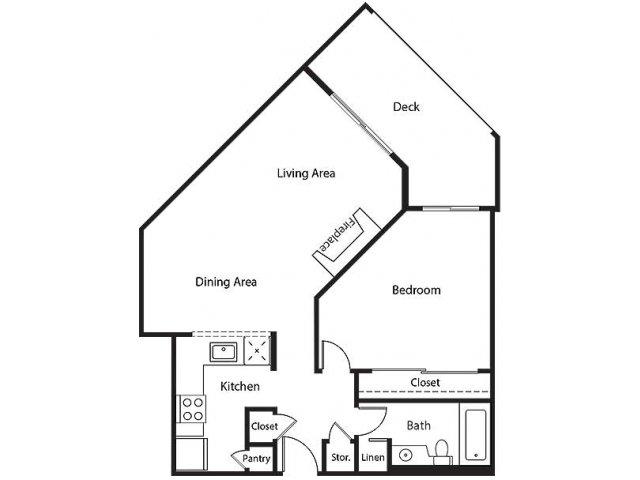 Floor Plan 10   Bayside Village Apartments