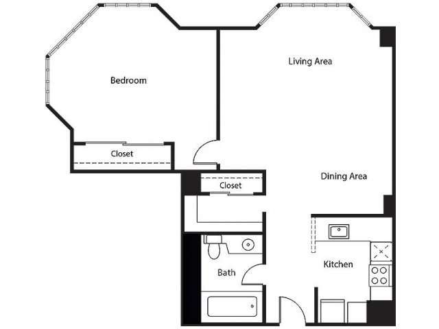 Floor Plan 13 | Bayside Village Apartments