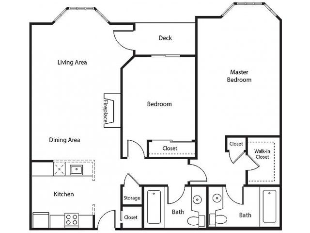 Floor Plan 15 | Bayside Village Apartments