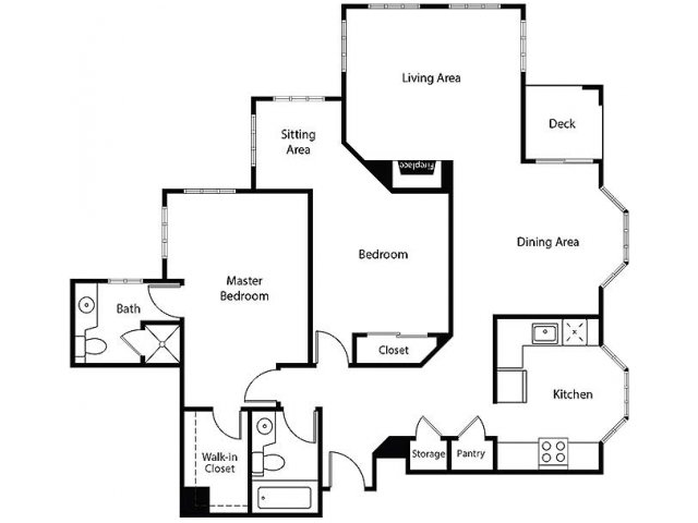 Floor Plan 22 | Bayside Village Apartments