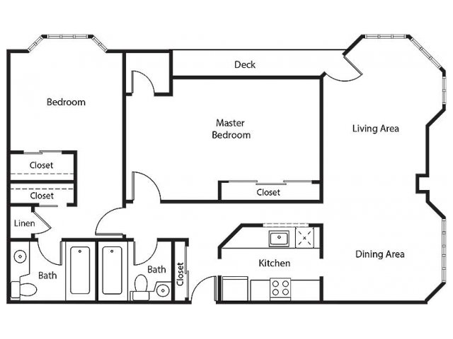 Floor Plan 24 | Bayside Village Apartments