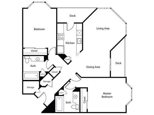 Floor Plan 26 | Bayside Village Apartments