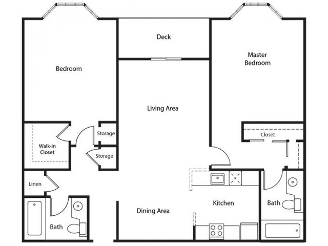 Floor Plan 16 | Bayside Village Apartments