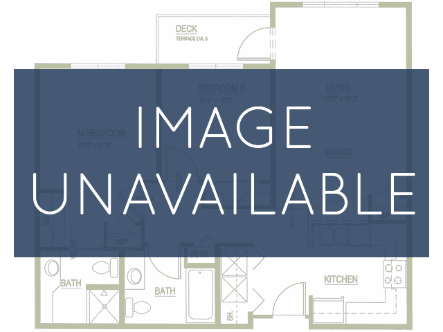 1 bedroom 1 bathroom apartment A1 floor plan at Talavera Apartments in Denver, CO