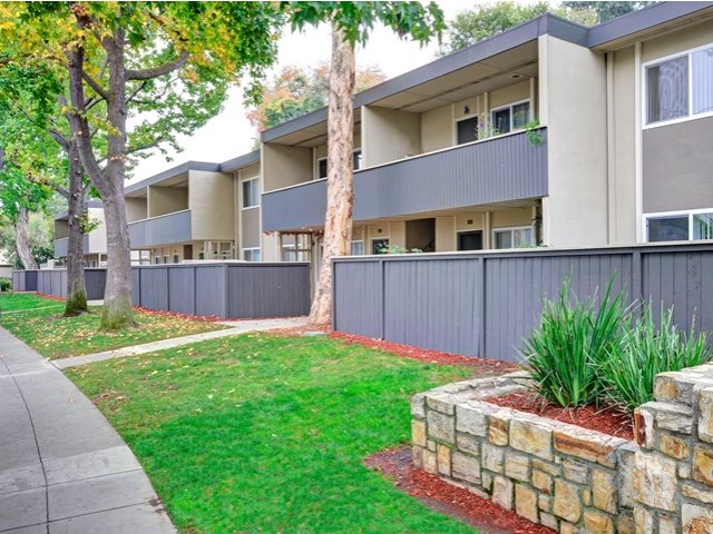 Trestles Apartments patio or balconies in San Jose, CA