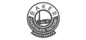 Logo for Baker Chocolate Factory Apartments in Dorchester, MA