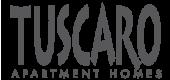 Logo for Tuscaro Apartment Homes, 4400 Truxel Rd, Sacramento, CA