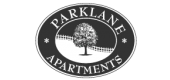 Logo for Parklane Apartments in Columbia, SC.