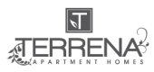 Logo for Terrena Apartment Homes in Northridge, CA