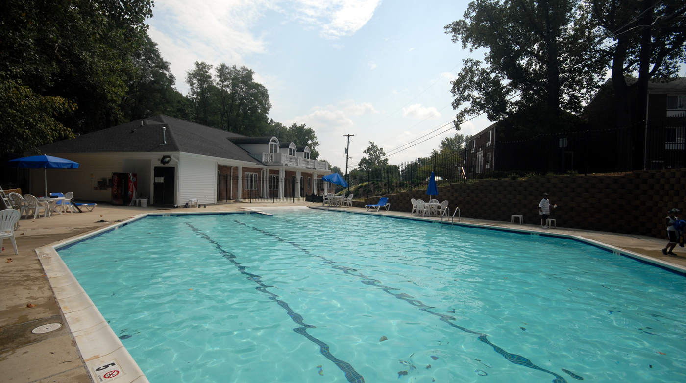 Pool at The Barrington Apartments in Silver Spring, MD