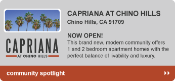 Capriana Apartments in Chino Hills, CA