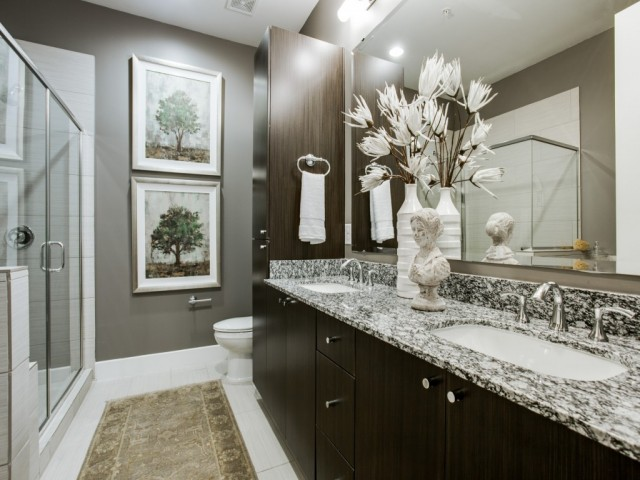 Image of Porcelain tile floors throughout for Cantabria at Turtle Creek Apartments
