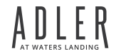 Logo for Adler at Waters Landing logo in Germantown, MD
