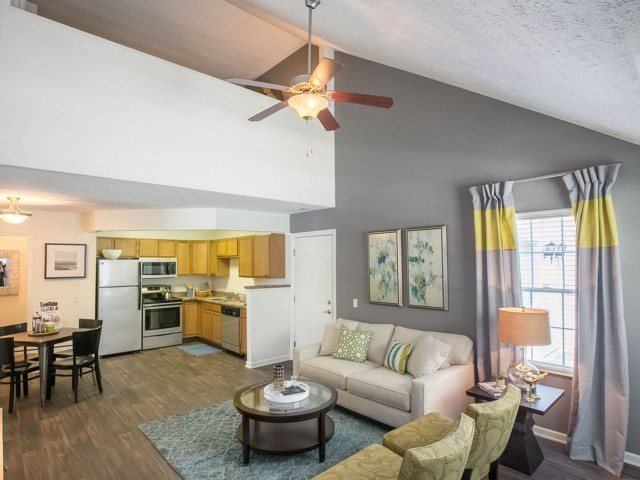 Loft floor plans at The Village at Avon Apartments in Avon, OH.