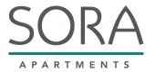 Logo for Sora apartments in Union City, CA