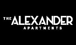 Logo for The Alexander Apartments in Alexandria, VA