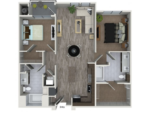 2 Bed 2 Bath Apartment In San Jose Ca 808 West Apartments